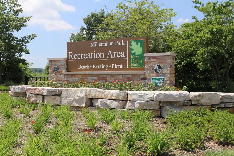 Millennium Park Recreation Area near Grand Rapids