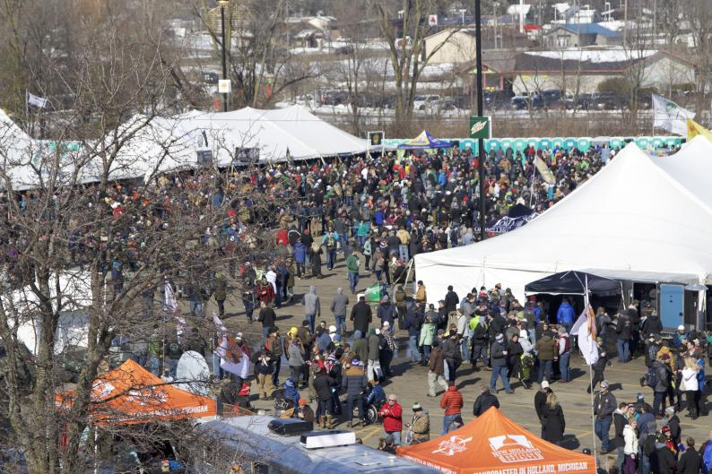 Crowd at the Winter Beer Festival