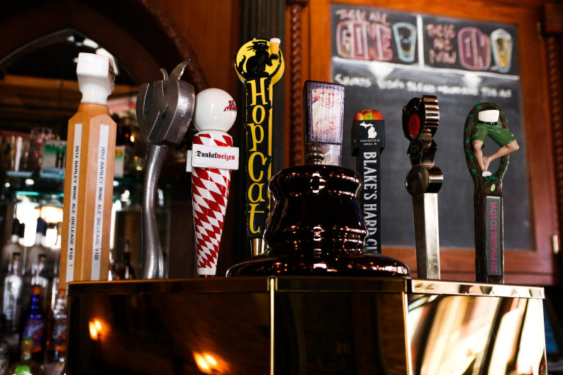 HopCat has an extensive beer menu with 49 taps and even more bottled options.