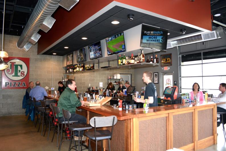JT's new sports bar addition gives customers one more reason to indulge in their homemade pizza!