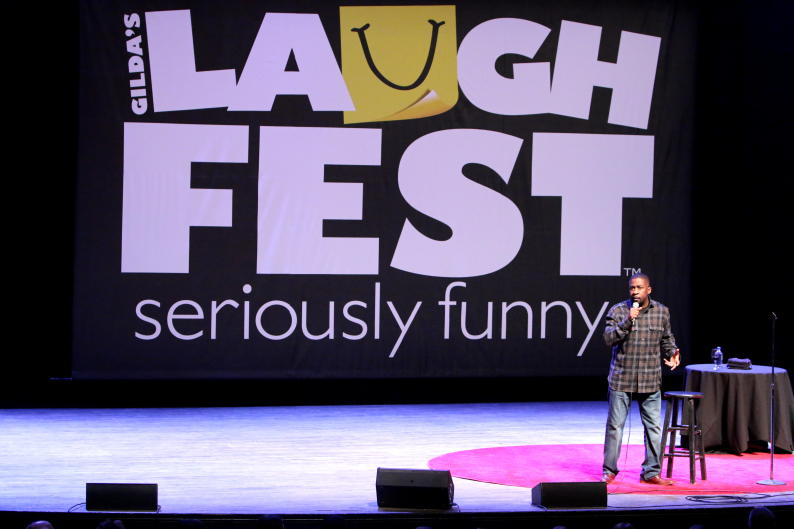 Enjoy a night (or two) out on the town during LaughFest as proceeds from the comedy shows benefit Gilda's Club Grand Rapids.