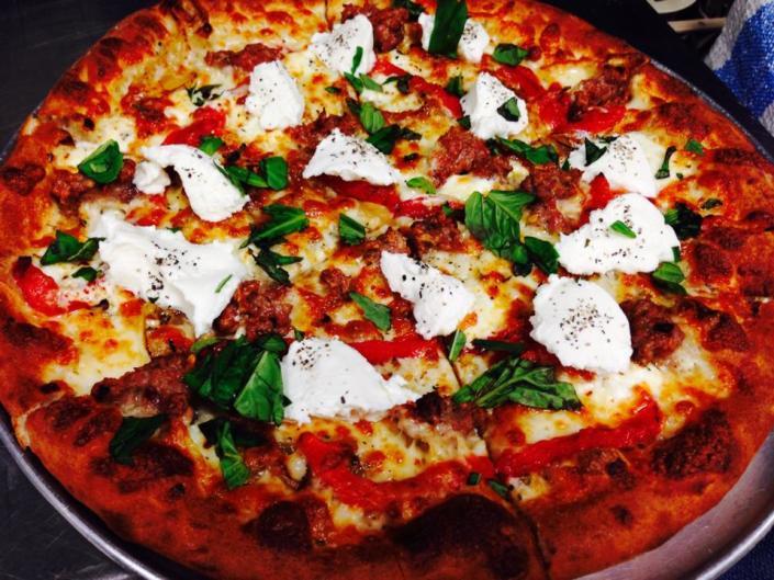 Licari's Sicilian Pizza Kitchen uses family recipes for its Sicilian pizzas.