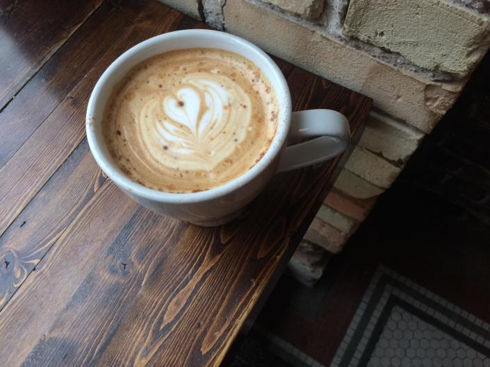 Visit one of the many coffee shops located in Grand Rapids for a beautiful work of art and caffeine boost!