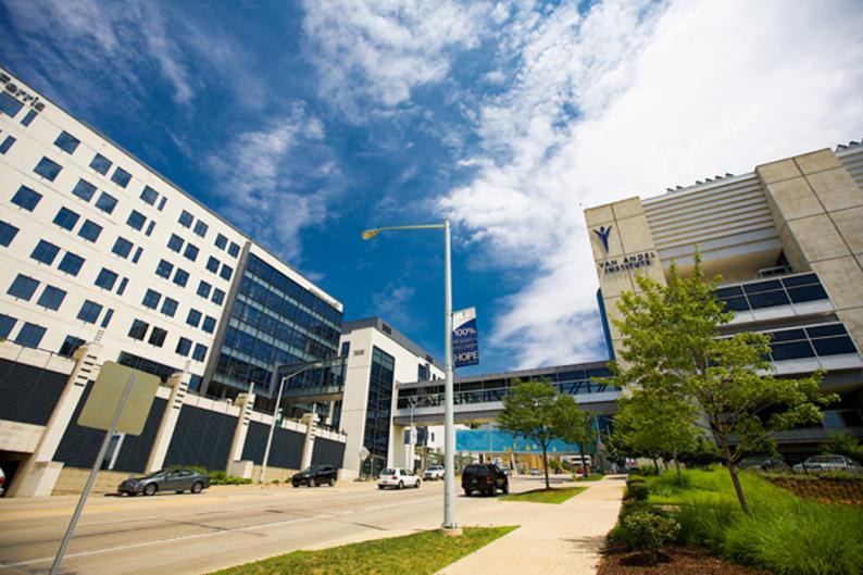 Van Andel Institute in Medical Mile neighborhood