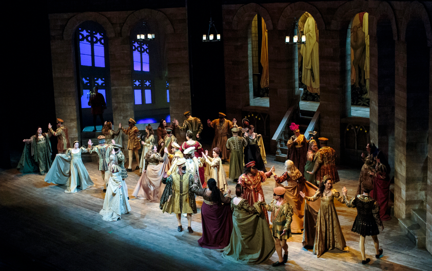 """DeVos Performance Hall came alive with Opera Grand Rapids' April 2016 performance of """"Romeo and Juliet."""""""
