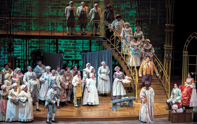 """Opera Grand Rapids performing """"The Marriage of Figaro"""" in May 2018."""