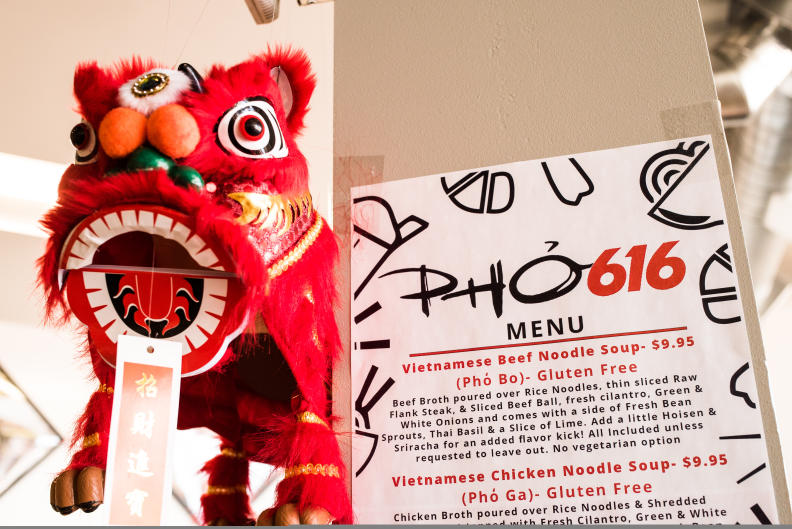 PHO616's location in the Downtown Market also offers a retail shop carrying Asian produce and Vietnamese items!