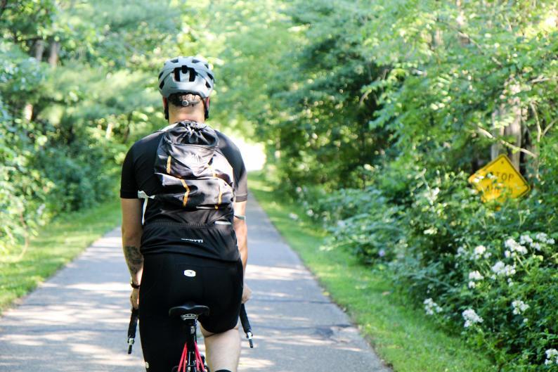 White Pine Trail biking