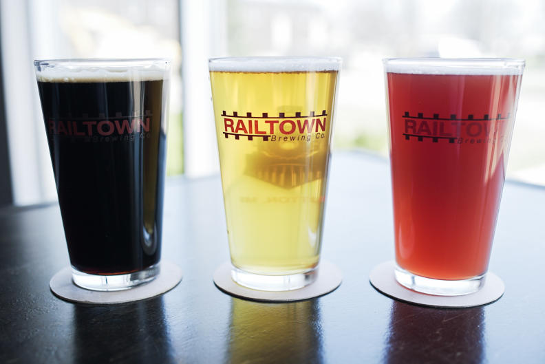 Railtown Brewing Co. is located just outside of Grand Rapids, in Dutton, Michigan.