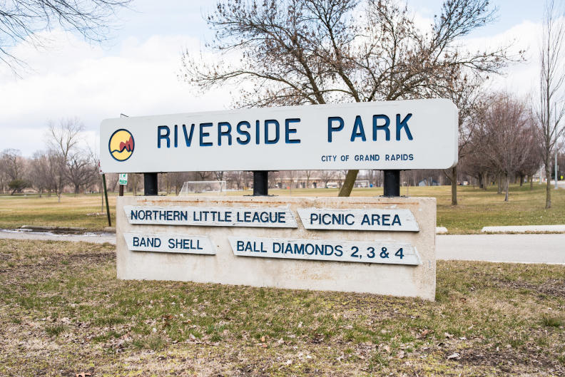 Riverside Park is one of Grand Rapids' largest parks.