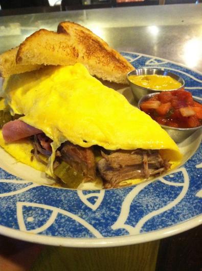 San Chez Bistro breakfast