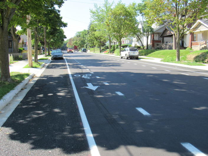 Vital Streets bicycle infrastructure