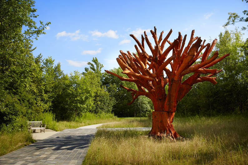 Ai Weiwei Iron Tree at Frederik Meijer Gardens & Sculpture Park