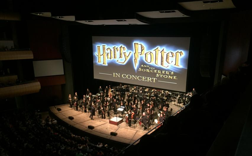The Grand Rapids Symphony performs music to appeal a broader, younger audience such as scores of the Harry Potter film series.