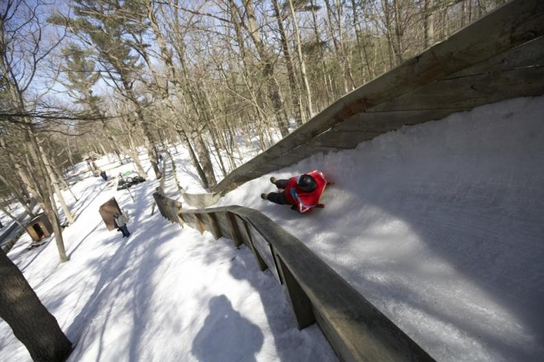 Grand Rapids bobsled