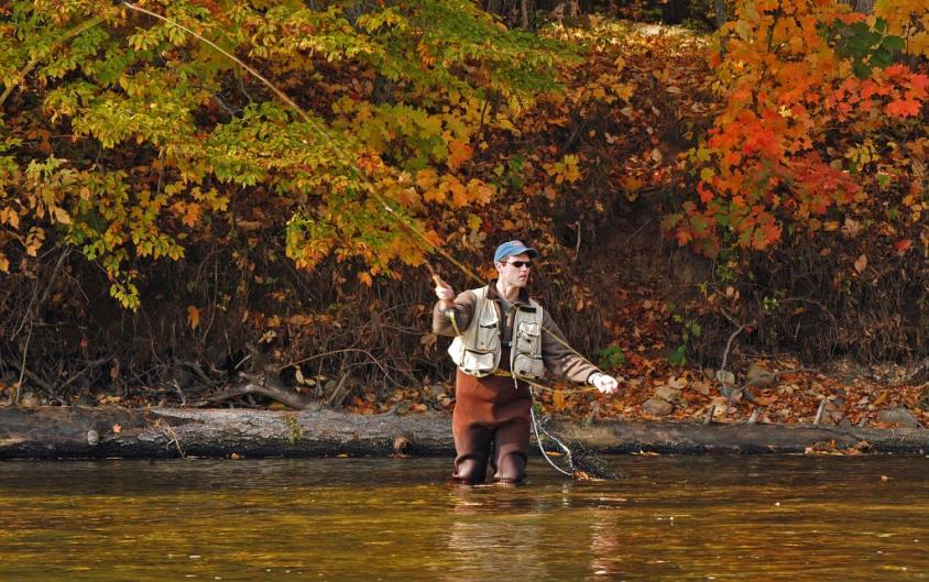 West Michigan rivers offer plenty of opportunity to see fall color.