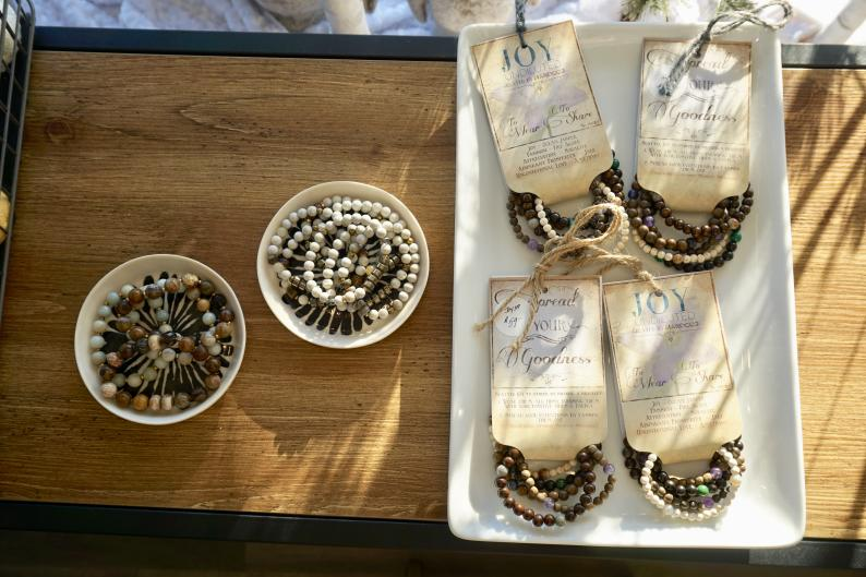 Jewelry for sale at Wax Poetic in Grand Rapids