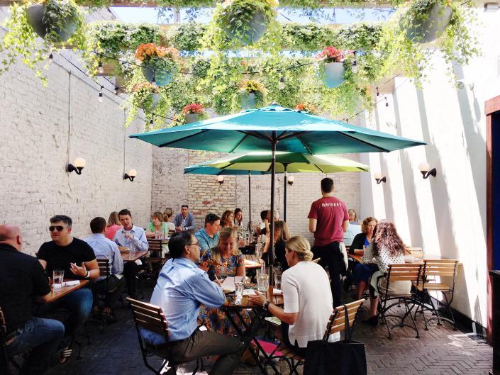 Butcher's Union patio