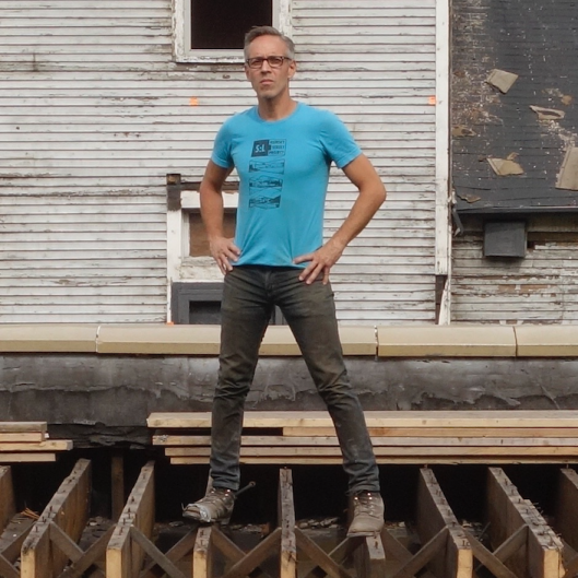Paul Amenda, artist and founder of SiTE:LAB, and architect Ted Lott will create an architectural intervention open to the community and activated by accessible performances and events