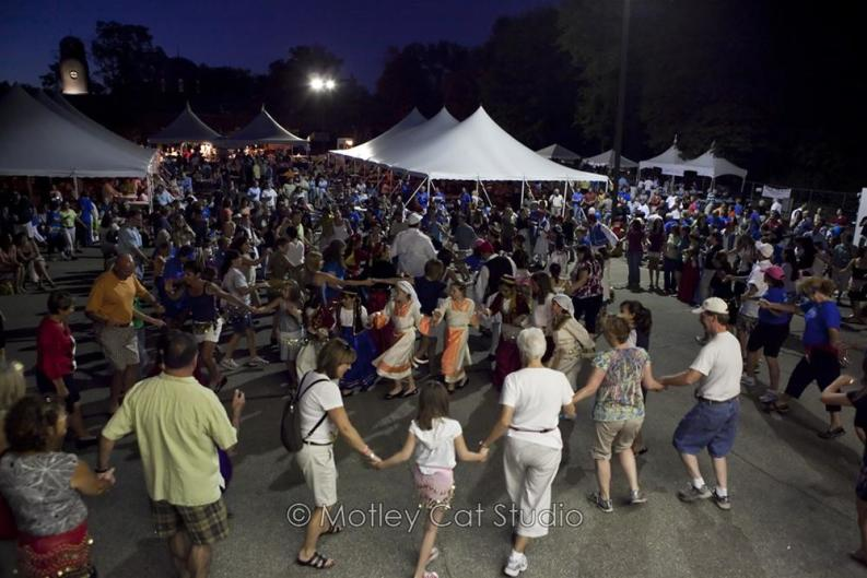 Going to Yassou! Greek Cultural Festival? Bring your dancing shoes.