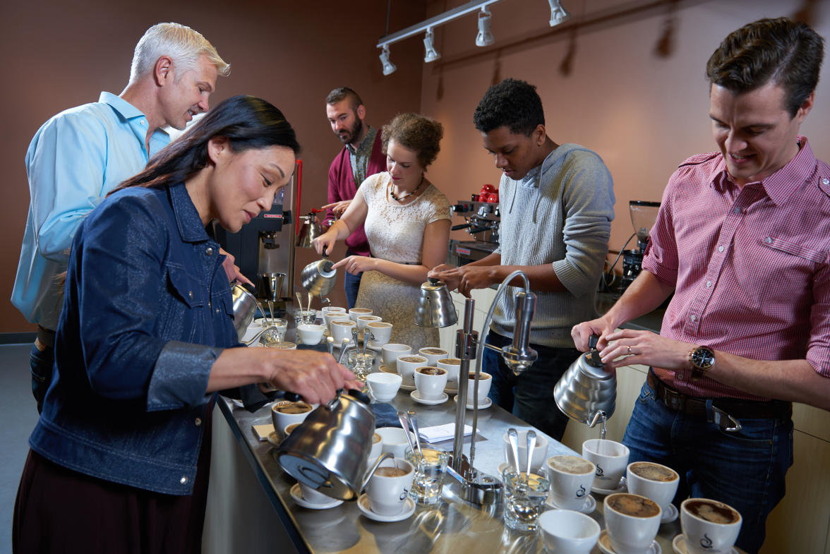 Coffee Tastings at Ferris Coffee
