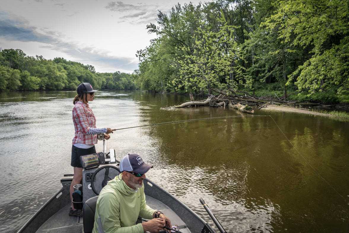 Each season requires its own special kind of gear. In the summer, a boat is helpful for accessing deeper waters, increasing your chances of a catch.