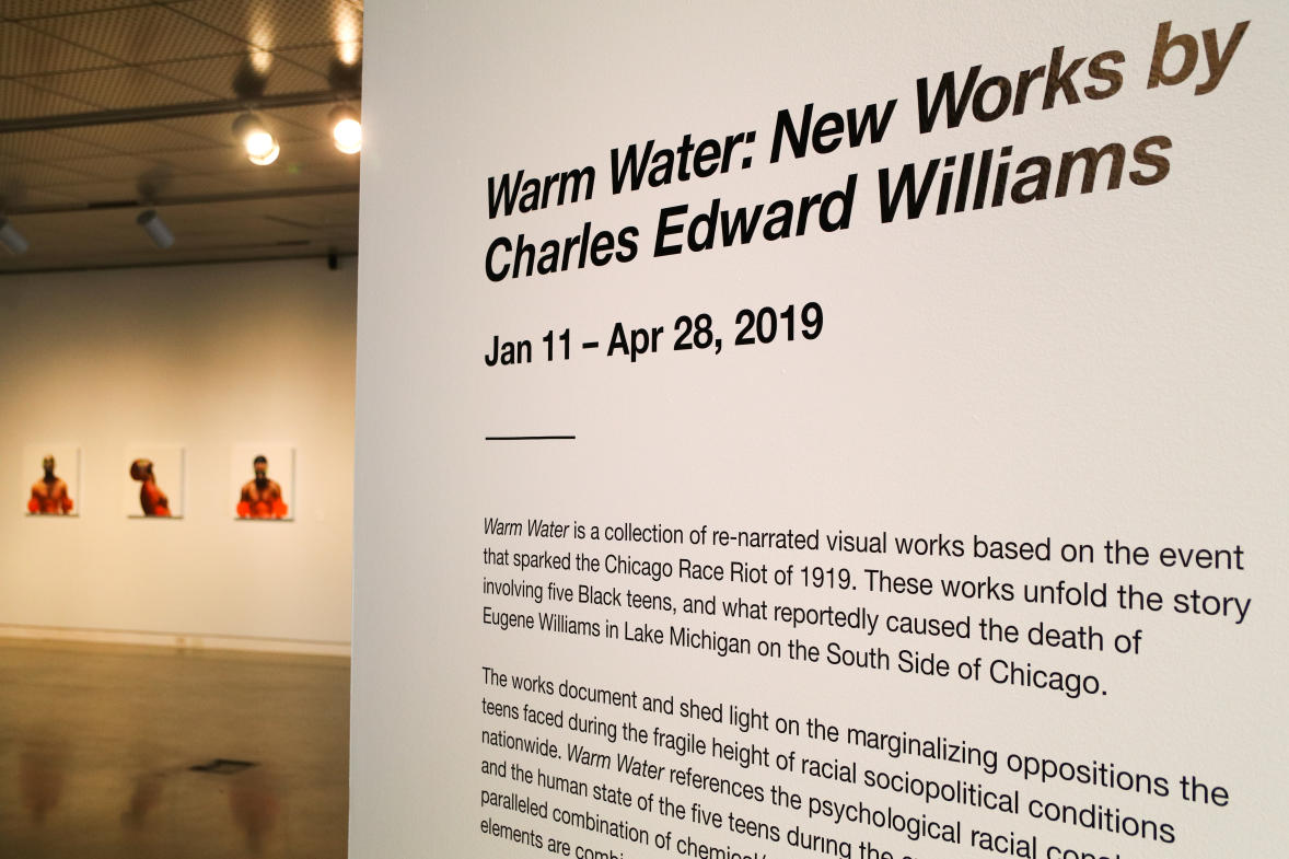 "Visit the Urban Institute of Contemporary Art to see its first new exhibit of 2019, ""Warm Water: New Works by Charles Edward Williams."""