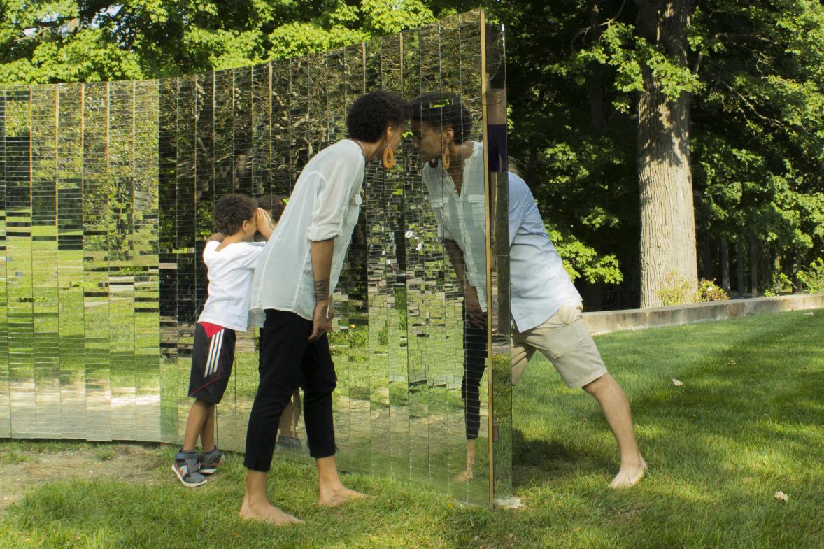 ArtPrize Pitch Night - Mirrored Wall