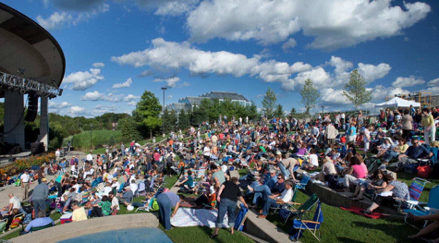 Outdoor Concert Series at Meijer Gardens