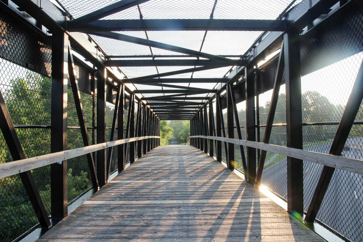 Rockford, Michigan, boasts plenty of areas for outdoor recreation, including the White Pine Trail.