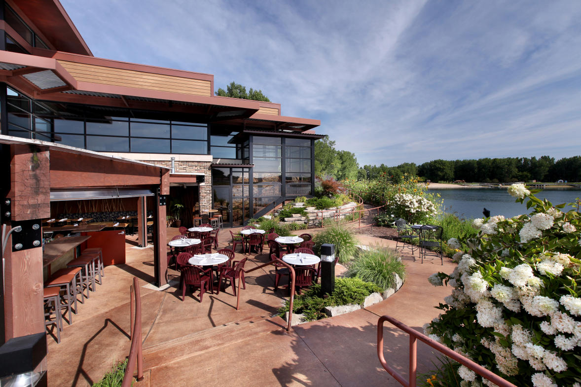Blue Water Grille patio