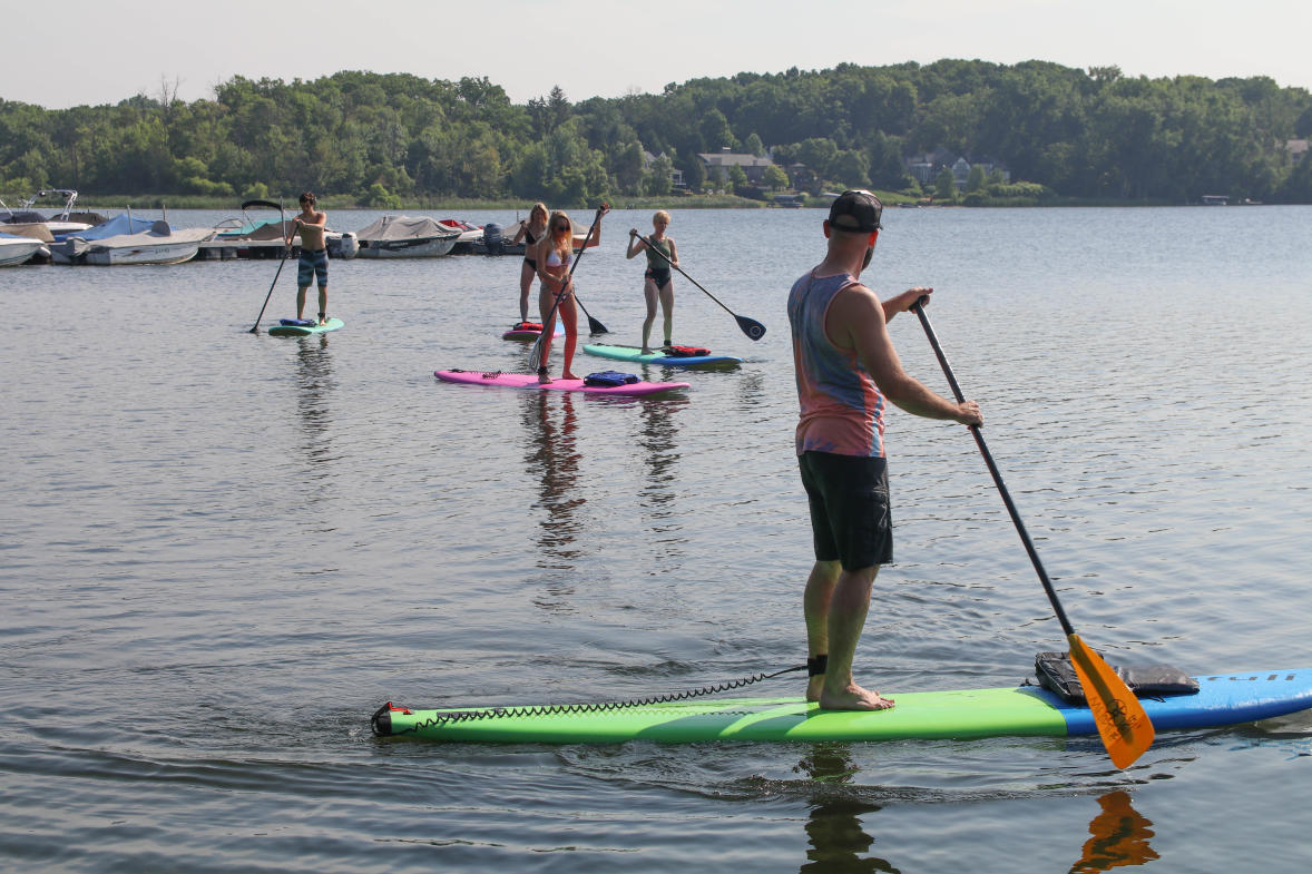 Fact: Paddle boards come in a variety of sizes and shapes and it's important that you find the correct board that fits your needs