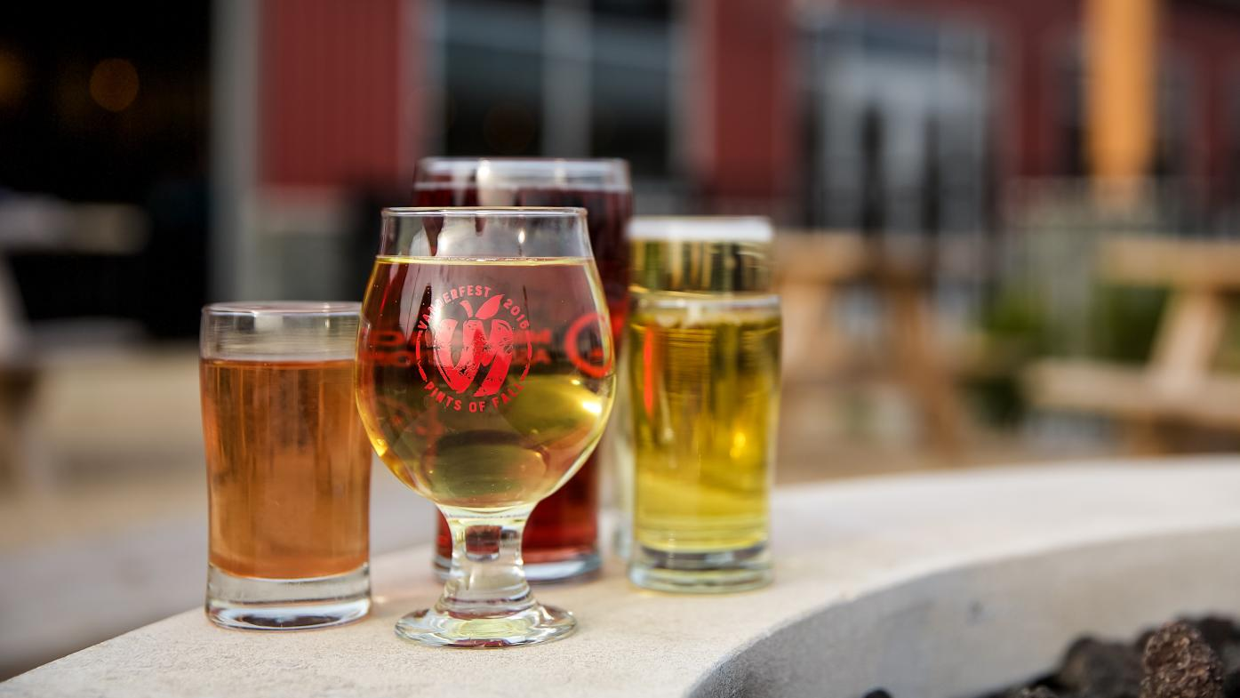 Vander Mill offers a multitude of hard ciders – there's one for everyone.