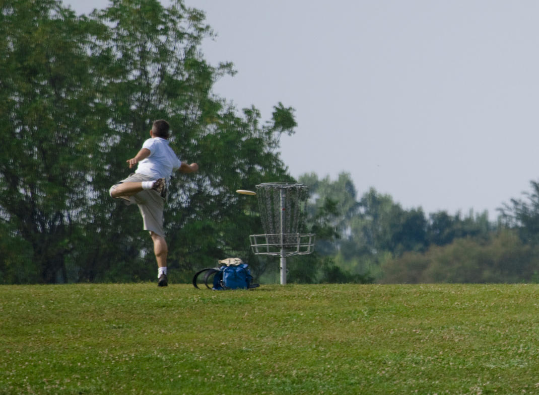 Long summer days and dozens of nearby courses make Grand Rapids a disc golfer's paradise.