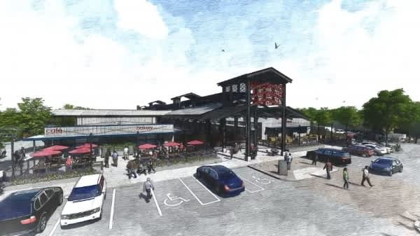 Airline Farmer's Market (Rendering)