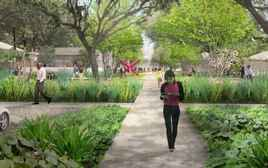 Menil Collection Campus Renderings