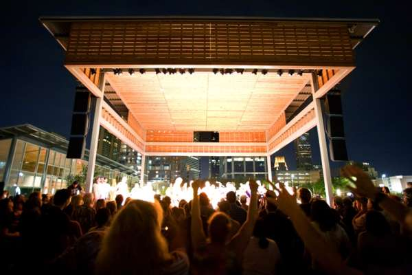 Discovery Green Ampitheater