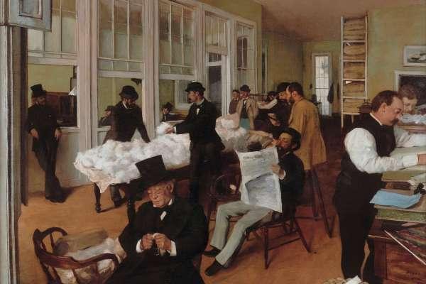 MFAH Degas painting