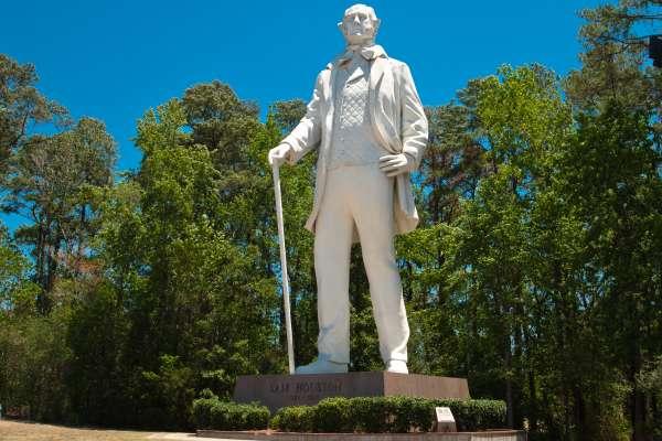 Sam Houston Statue in Huntsville
