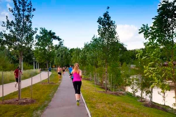 Buffalo Bayou Park - Running