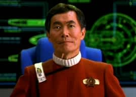 George Takei Beaming in to Houston