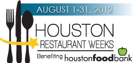 houston restaurant weeks 2012