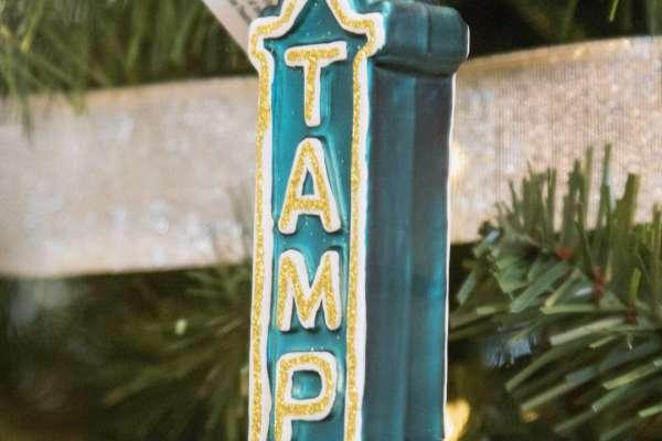 TampaTheatre Christmas Ornament
