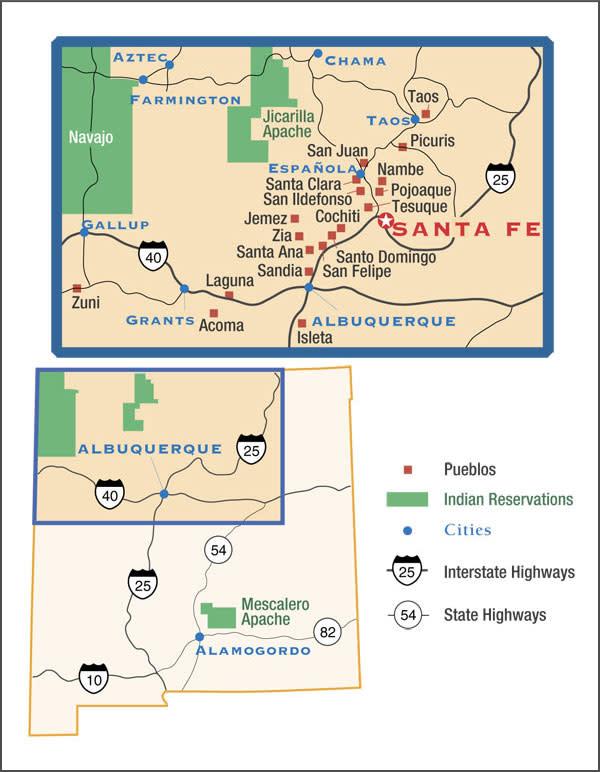 Indian Pueblos New Mexico - Native American Pueblos - Native ...