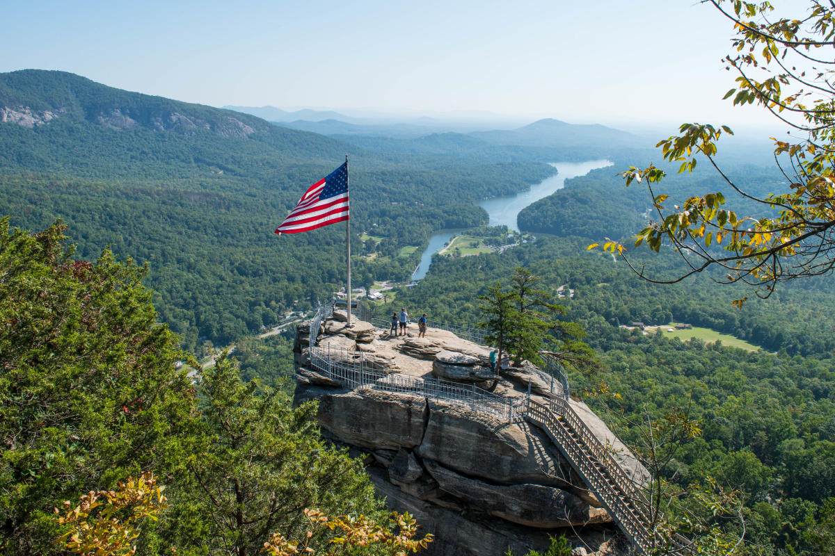 New Trail Opens At Chimney Rock State Park