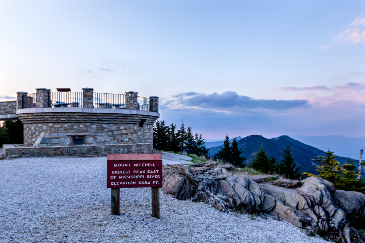 Mount Mitchell Asheville Nc S Official Travel Site