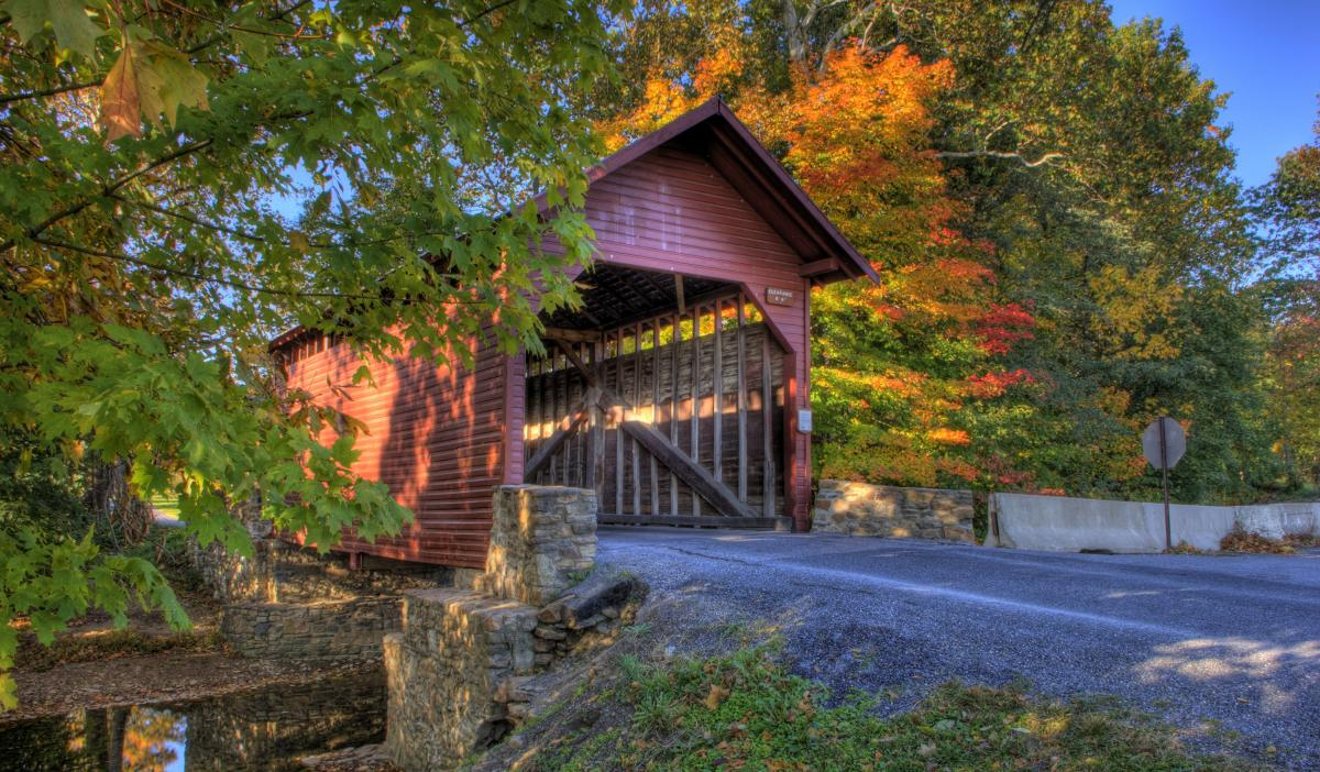 Covered Bridges In Frederick Md Historic Driving Tour