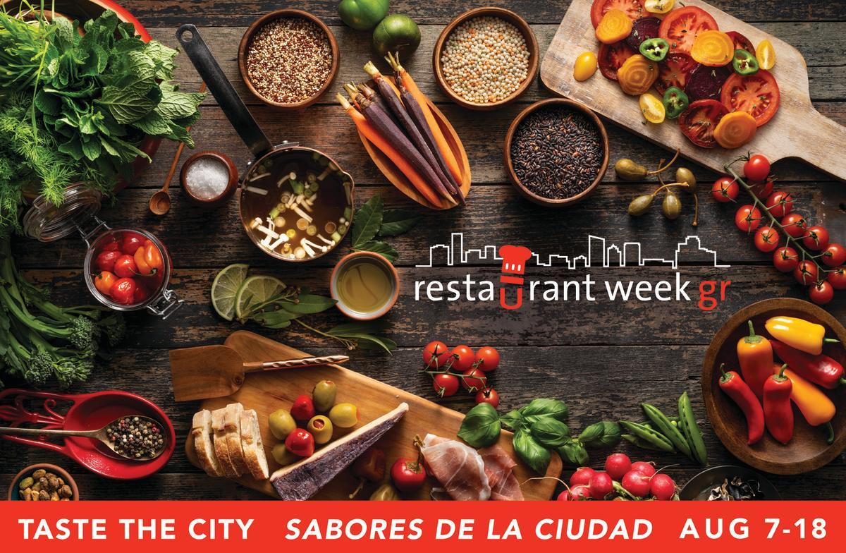 Grand Rapids Restaurant Week | August 7-18, 2019