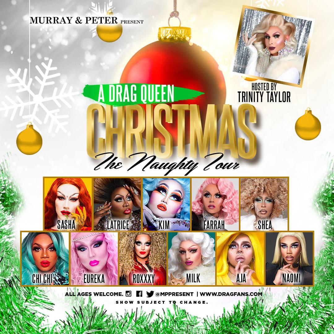 A Drag Queen Christmas.A Drag Queen Christmas The Naughty Tour Comes To Smg
