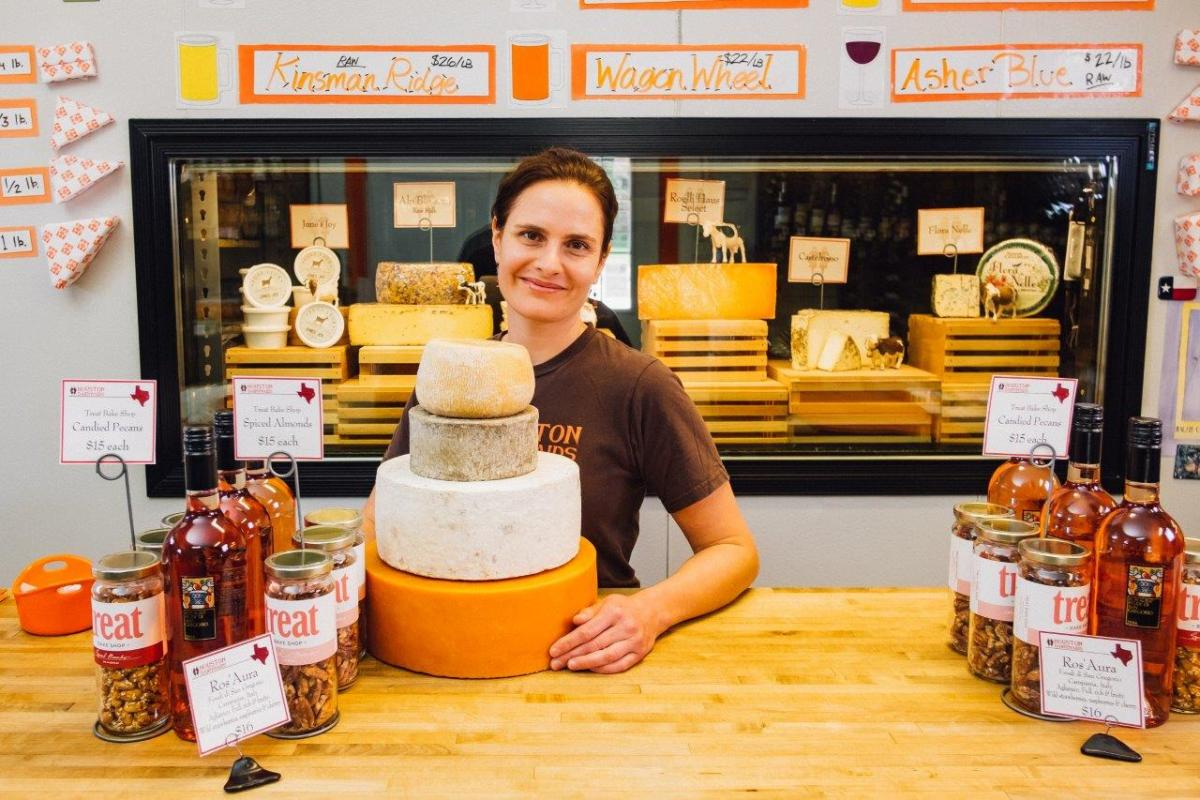 Celebrate National Cheese Month With Houston Dairymaids